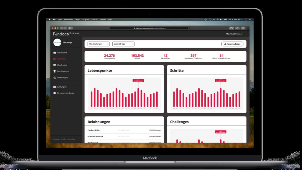 Pandocs Business Web-App